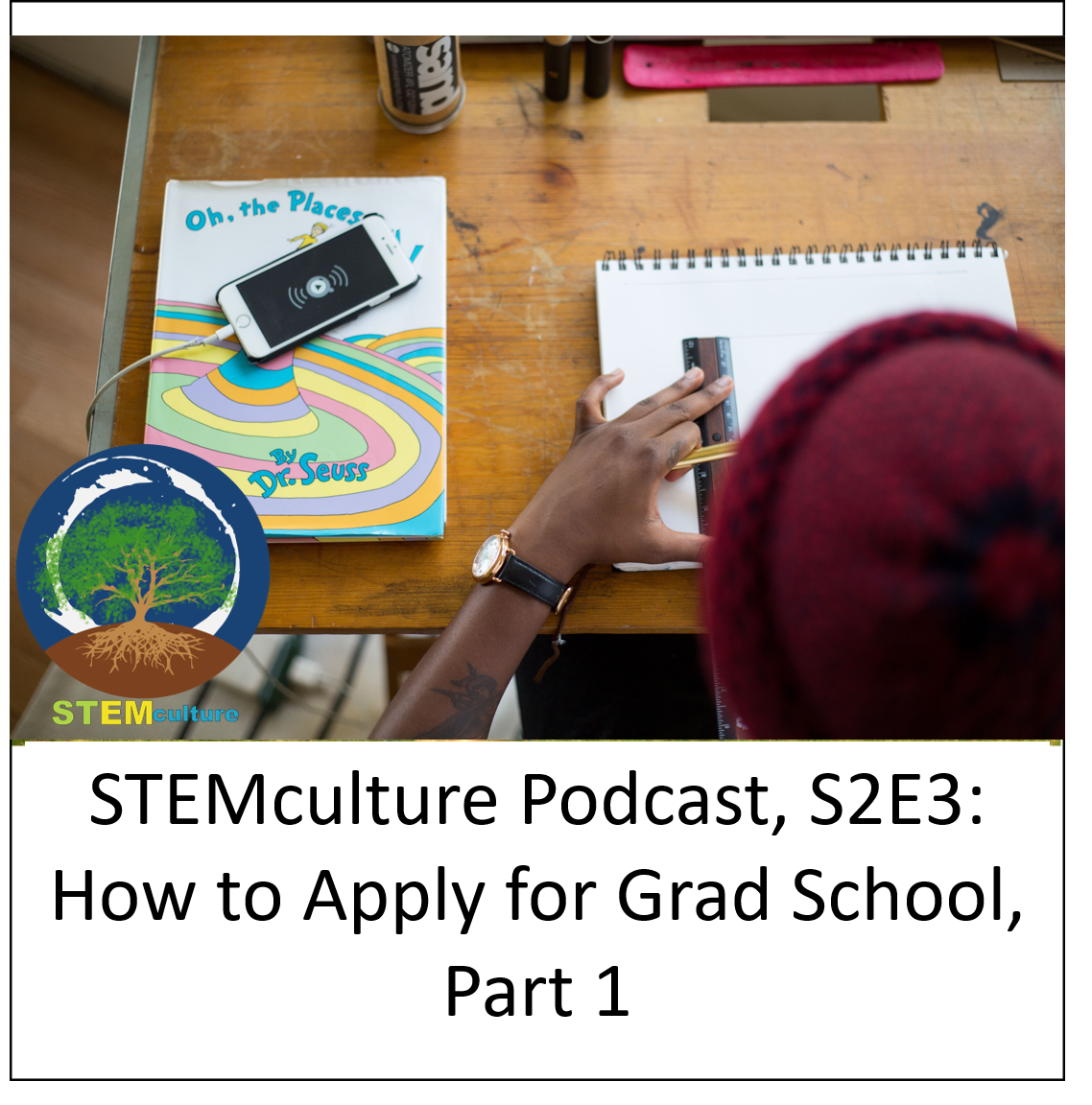 S2E3, Back to School series: ''How to Apply for Grad School, Part 1''